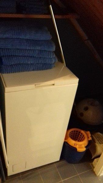 Machine à laver et serviettes