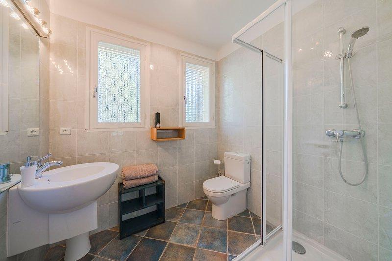 Bathroom 2 (large ensuit shower room to Bedroom1 not shown)