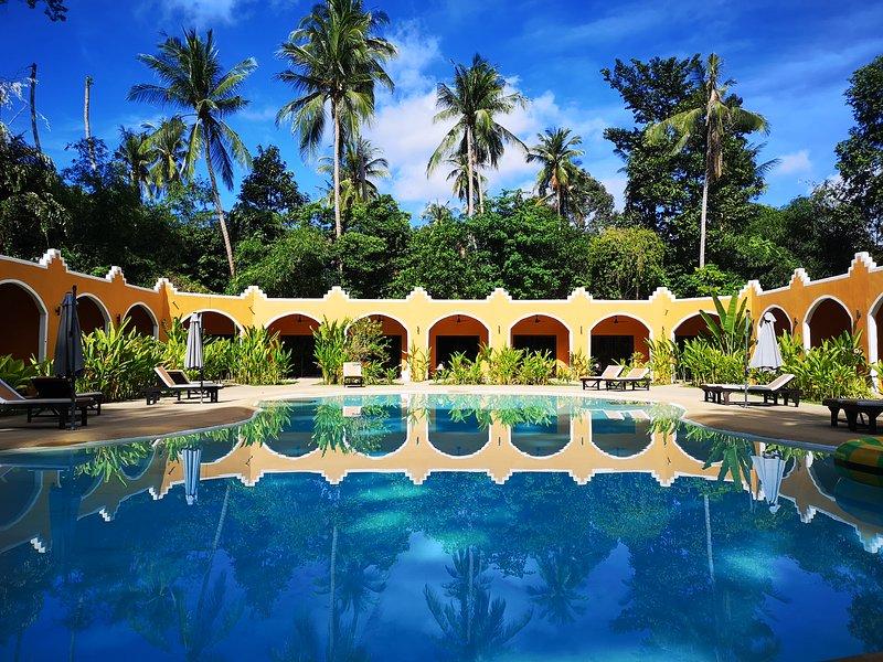 Hasia leisure resort 2 min walk to lamai beach samui thailand, holiday rental in Maret