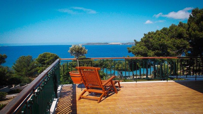 Anthoula's House.. Superior Sea View Apartment, Ferienwohnung in Lassi