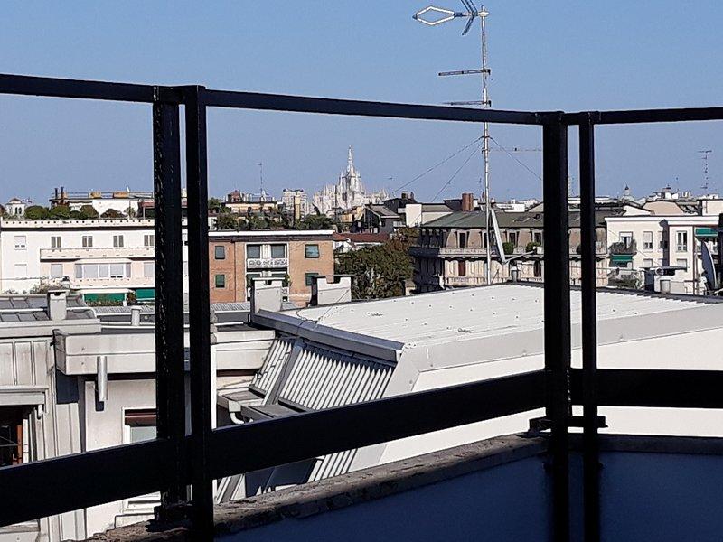 Vista do Duomo a partir do terraço do nono andar