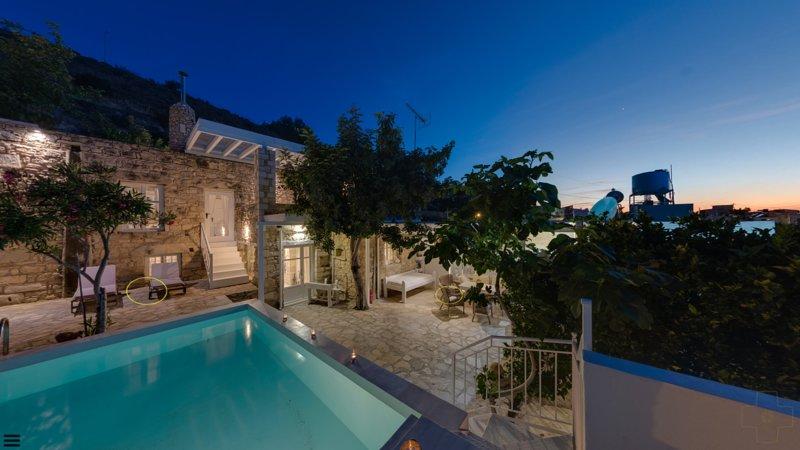 Photo 360 °, romantique Villa Chrissie Marie