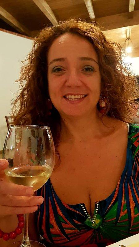 """Cinzia the owner of """"VILLA ALECLA"""""""