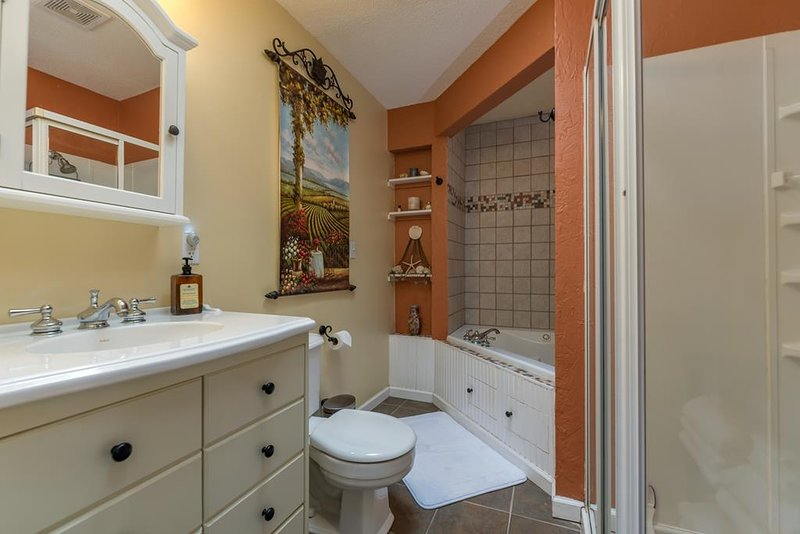 Bathroom in Guest Cottage