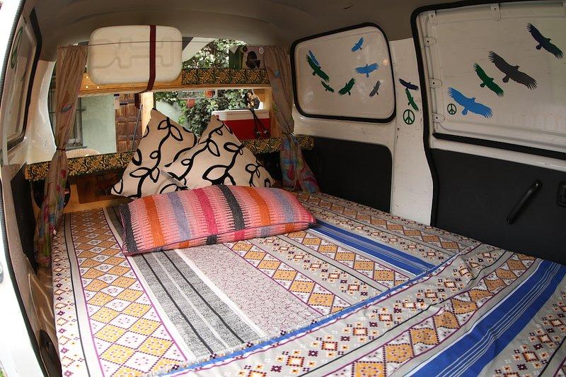 Chilewheels Adventure Arriendo de Campervan y Motos para viajar por Chile., alquiler vacacional en Farellones