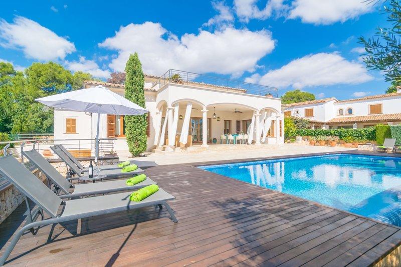 VILLA MURTA - Villa for 8 people in Porto Cristo (Manacor), vacation rental in Cala Mandia