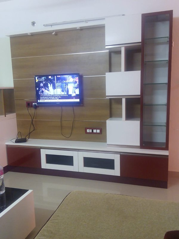 3bhk Ac luxury Apartment for short stay for family, vacation rental in Thiruvananthapuram (Trivandrum)