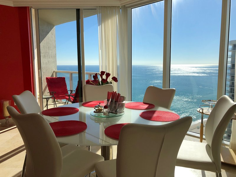 Beachside Paradise 2 bedroom on 27th Floor, La Perla STR-00010, vacation rental in Sunny Isles Beach