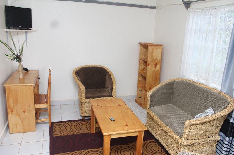 Africana Yard one bedroom, alquiler de vacaciones en Provincia del valle del Rift