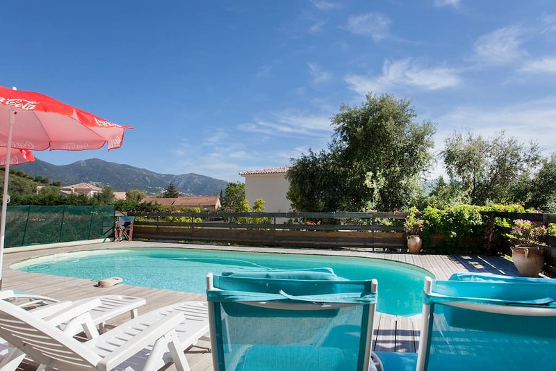 Grande villa avec piscine à Saint Florent, vacation rental in Saint Florent