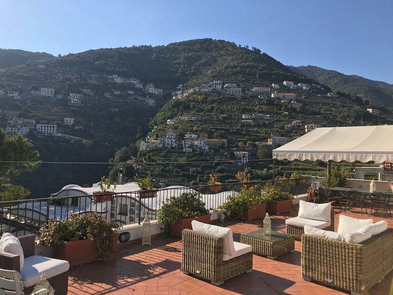 The view from Antica Porta terrace.