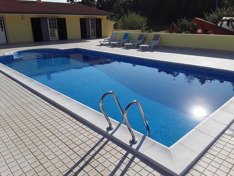 Maison  avec piscine et jacousi incorporé, vacation rental in Pombal