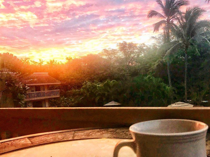 Se ti svegli abbastanza presto, potresti prendere l'alba.