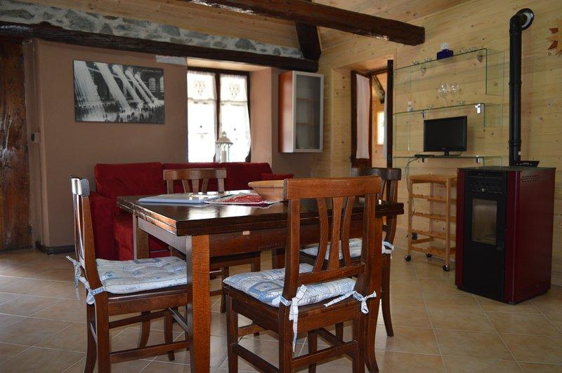 Appartamento Curnet, holiday rental in Balme