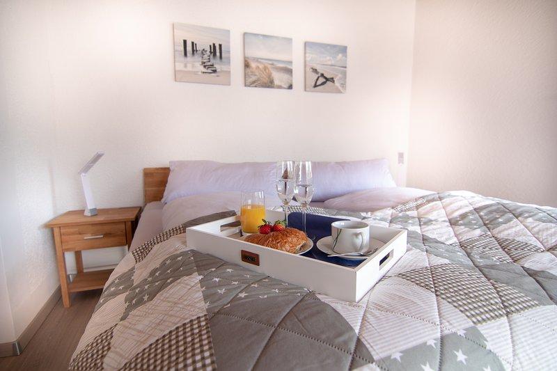 Slaapkamer aan het Ludwigskanal