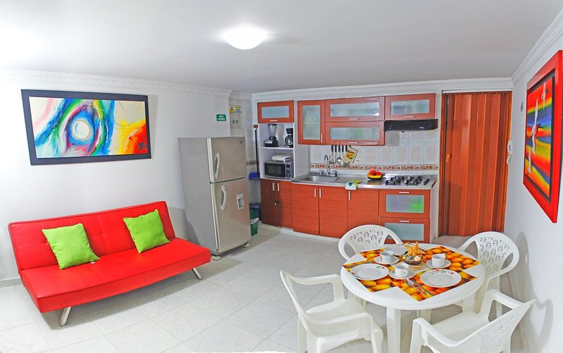 SMR525A - Apartamento Arena - Frente al Mar, holiday rental in Santa Marta Municipality