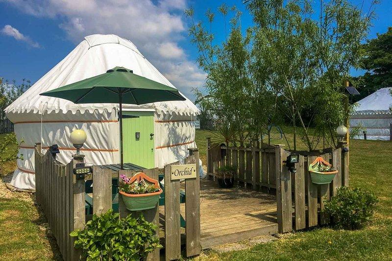 Orchid Yurt, aluguéis de temporada em Trispen