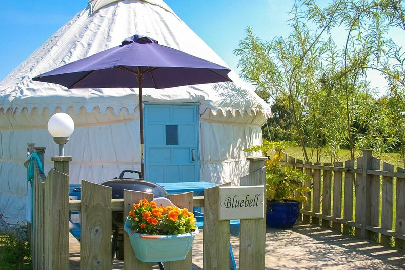 Bluebell Yurt, holiday rental in St Newlyn East