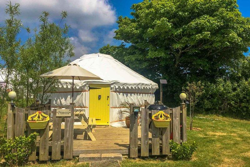 Primrose Yurt, holiday rental in St Newlyn East
