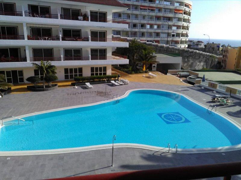 VV APTO SOL&ARENA. PRIMERA LINEA DE COSTA PLAYA LA ARENA, Ferienwohnung in Puerto de Santiago