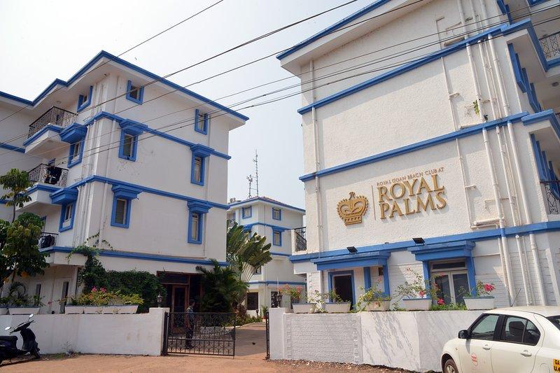 TT Royal Palms 1 Bedroom Holiday Apt, aluguéis de temporada em Benaulim