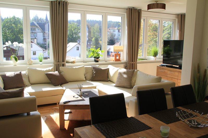 Traum-Ferienwohnung Georgenthal, vacation rental in Oberhof