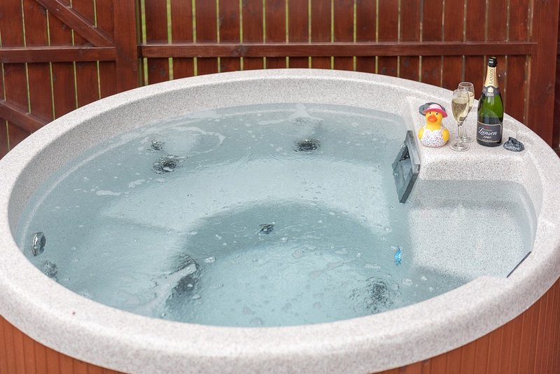 Birch Lodge 13 with Hot Tub, Newton Stewart, vacation rental in Newton Stewart