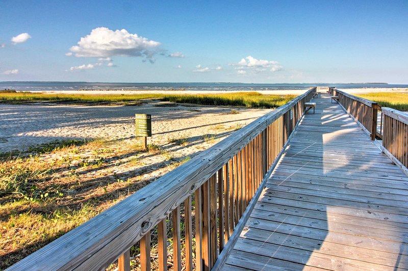 Hilton Head Island vanta oltre 12 miglia di spiagge con sabbia bianca incontaminata.