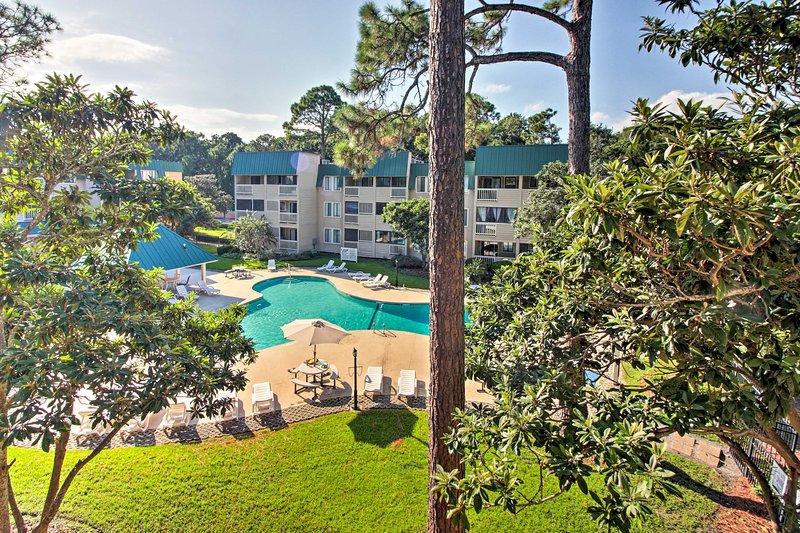 Il condominio comprende l'accesso ai servizi in The Spa On Port Royal Sound.
