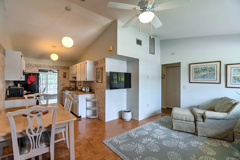 Unwind in this cozy 3-bedroom, 2-bathroom vacation rental home.