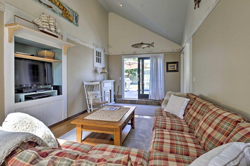Rendi questa vacanza da sogno sulla costa orientale della tua casa vacanza a South Yarmouth!