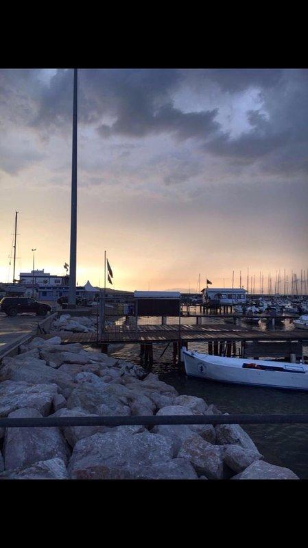 The port of Civitanova Marche