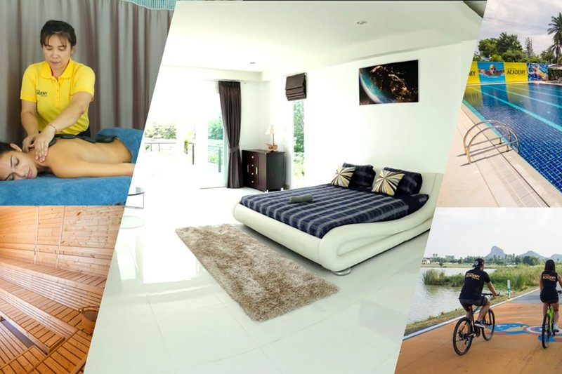 Luxury 5br Pool Villa + FREE Sport&SPA Center_td9, vacation rental in Ban Chang