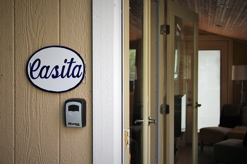 Entrance to the Casita