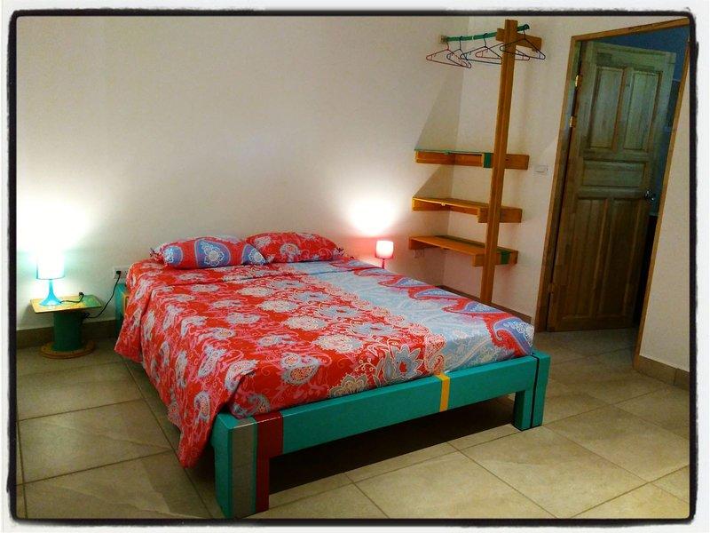 Chambre avec lit Queen Size - Chambre Ceiba RED
