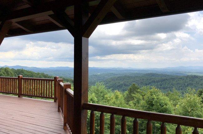 Layers of Beautiful Blue Ridge Mountain Views as Far as the Eye Can See