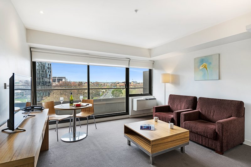 Corporate Keys St Kilda Rd Residence 1 bedroom Apt – semesterbostad i St Kilda East