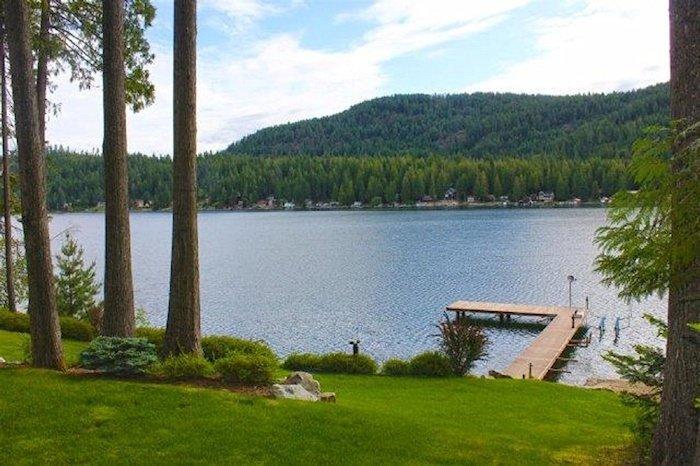 Nice dock on the lake