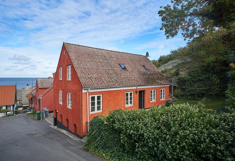 Sommerhus 'Det gamle Bryggeri' i Gudhjem, location de vacances à Pedersker