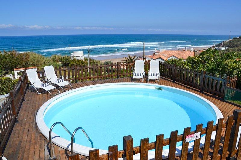 Adraga Villa Sleeps 12 with Pool - 5679402, alquiler vacacional en Praia das Macas