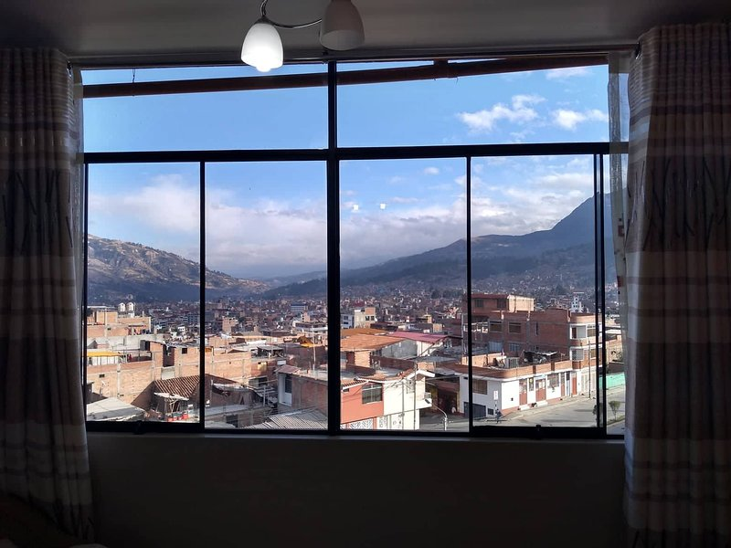 Main Room - Double with a view of Huaraz and its Landscapes.