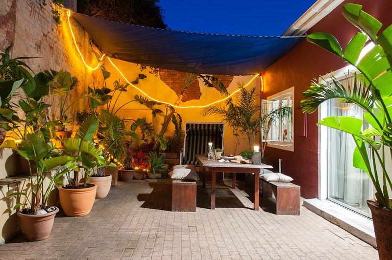 Le jardin / patio