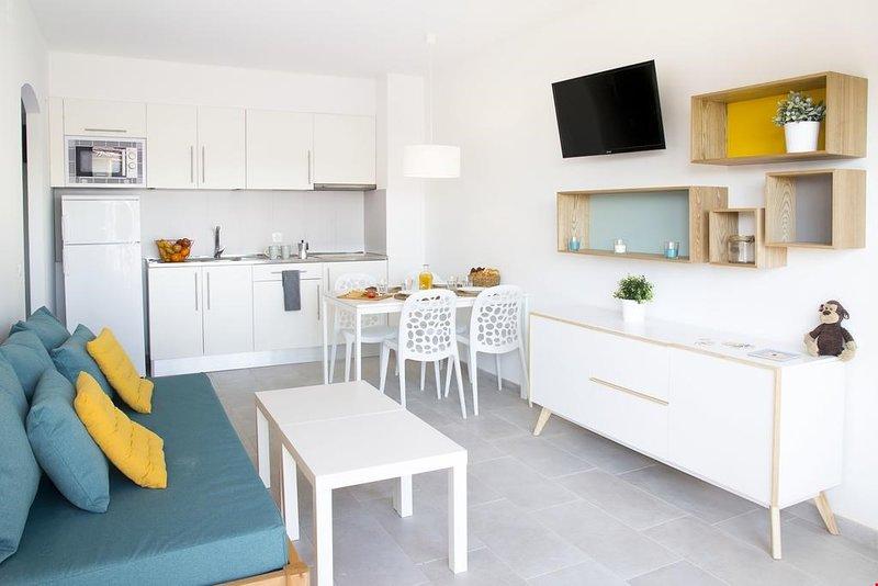 Venez séjourner dans notre appartement récemment rénové de 2 chambres à L'Estartit!