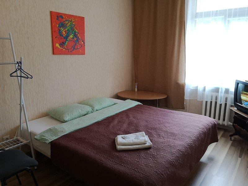 Low-cost apartment, holiday rental in Priekule