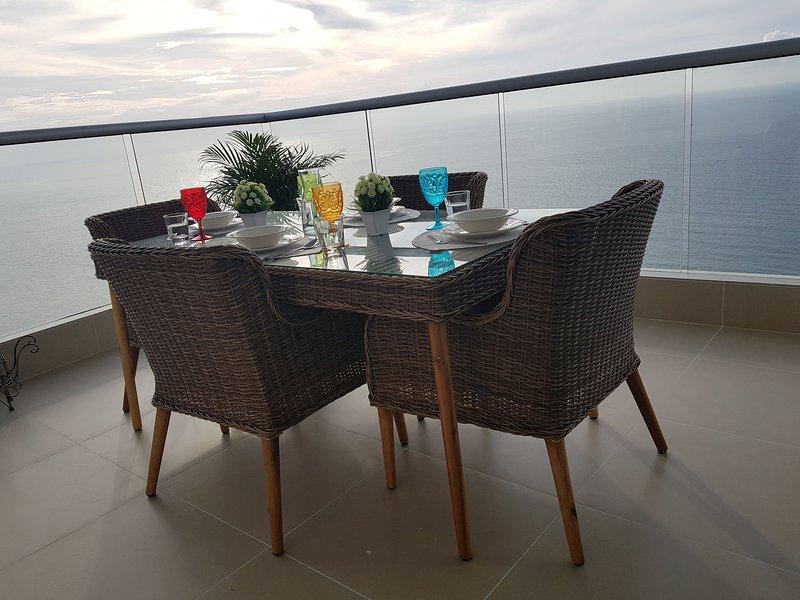 Luxuriöses Apartment direkt am Strand, casa vacanza a Isla Grande