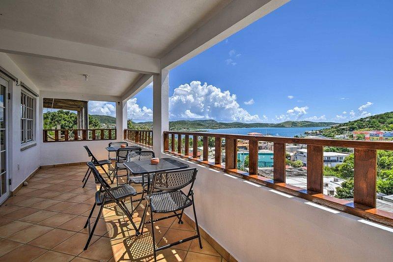 Oceanview Culebra Escape w/ Balcony - Walk to Town, vacation rental in Fraile