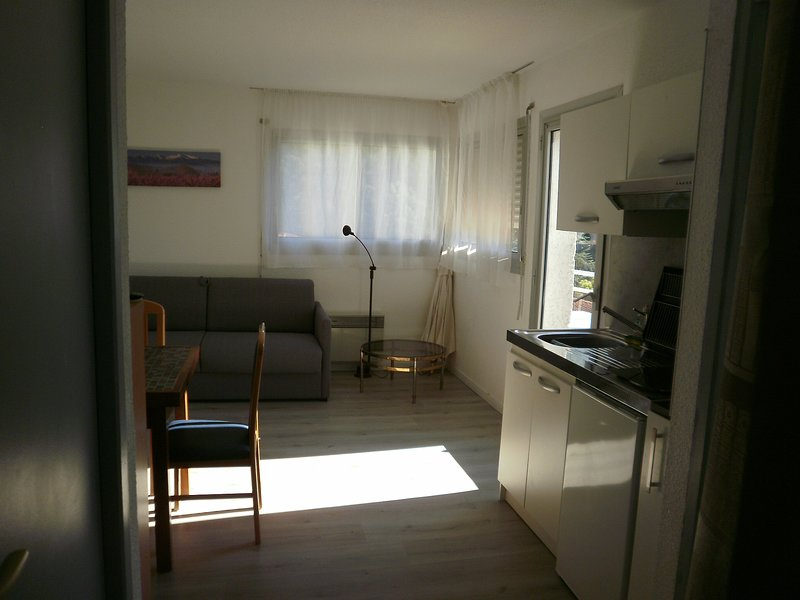 Beautiful studio with mountain view, holiday rental in Fuilla
