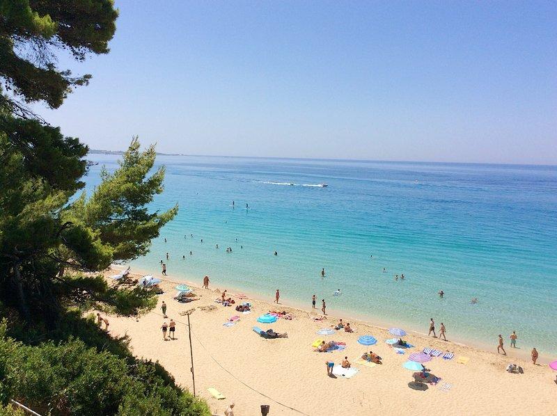 Beautiful Lassi beaches: Makris Gialos, Platis Gialos...
