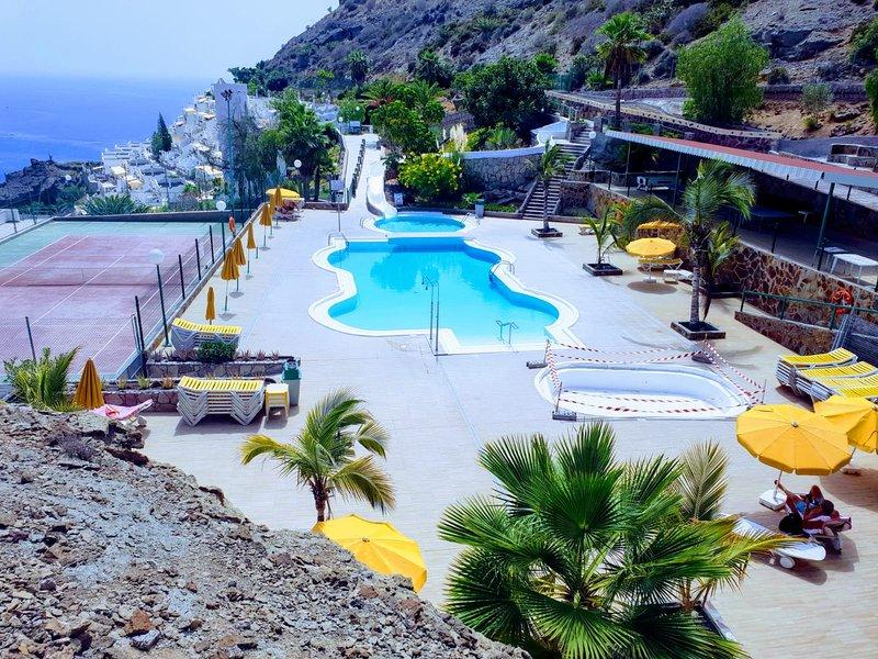Apartment mit Meerblick, aluguéis de temporada em Playa de Cura