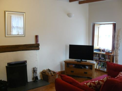 Sala de estar atraente